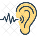 Frequent Ear Sound Icon