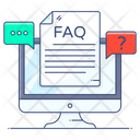 Frequently Ask Question Question Answer Faq Icon