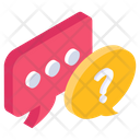 Frequently Asked Questions Faq Negotiation Icon