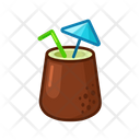 Fresh Coctail Food Meal Icon