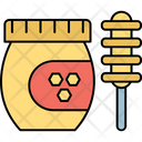 Fresh Honey Honey Jar Healthy Diet Icon