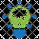Fresh Idea Bulb Creativity Icon