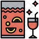 Food And Restaurant Punch Bowl Alcoholic Drinks Icon