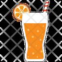 Fresh Juice Glass Icon