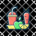 Color Icon Fruit Icon