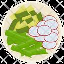 Fresh Salad Green Salad Vegetable Salad Icon