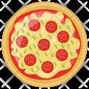 Fresh Tomato Pizza Icon