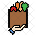 Fresh Vegetable Delivery Icon