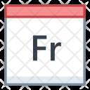 Friday Day Calendar Icon