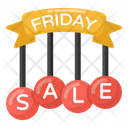 Friday Sale Mark Friday Sale Sale Coupons Icon