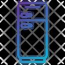 Cold Freezer Fridge Icon