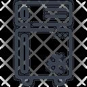 Fridge Icebox Freezer Icon