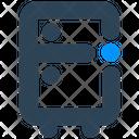 Electronics Fridge Refrigerator Icon