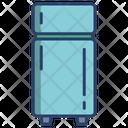 Fridge Double Door Icon