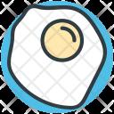 Fried Egg Breakfast Icon