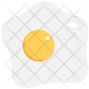 Fried Egg Breakfast Icon