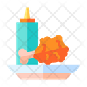 Fried Chicken Food Chicken Icon