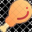 Chicken Crispy Fried Icon