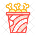 Fried Chicken Legs Icon