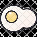 Fried Egg Egg Food Icon