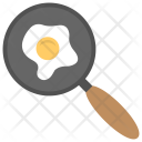 Frying Pan Fried Icon