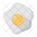Fried Egg Breakfast Dairy Icon