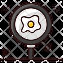 Fried Egg Egg Breakfast Icon