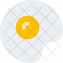 Fried Egg Food Icon