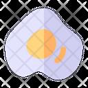 Fried Egg Egg Dish Icon