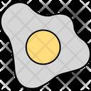 Fried Egg Breakfast Egg Icon