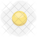 Fried Egg Breakfast Cooked Egg Icon