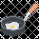 Egg Frying Egg Breakfast Icon