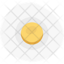Fried Egg Breakfast Frying Pan Icon