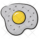 Egg Frying Egg Breakfast Icon