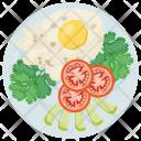 Salad Fresh Egg Icon