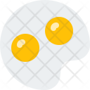 Fried Eggs Food Icon