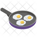 Fried Eggs Pan Icon