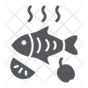 Fried Fish Food Icon