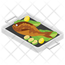 Fried Fish Icon