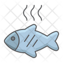 Barbecue Fish Fried Icon