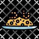 Fried Rice Shrimp Icon