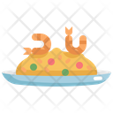 Fried Rice Seafood Icon