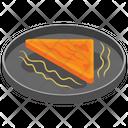 Fried Sandwich Breakfast Fast Food Icon