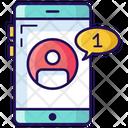 Friend Request Message Request Mobile Message Icon