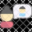 Friend Thinking Icon