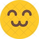 Friendly Emoji Smiley Icon