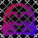 Friendly Happy Cheerful Icon