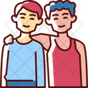 Friends People Happy Icon