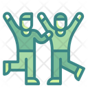 Friends Dancing Icon