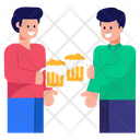Beer Party Friends Drinking Cheers Icon